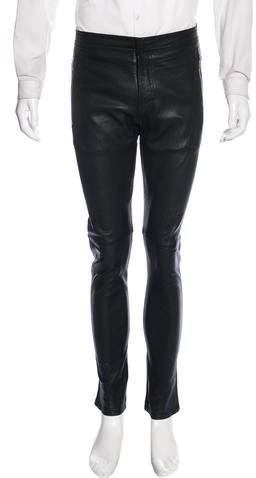 Givenchy Lambskin Skinny Pants
