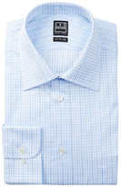 Ike Behar Long Sleeve Plaid Dress Shirt
