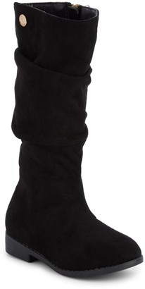 Tahari LIttle Girl's & Girl's Faux Suede Tall Boots