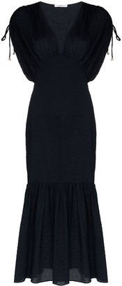 Marysia Swim Monterey V-neck midi dress