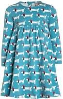Frugi TESS TWIRLY Jersey dress light blue
