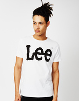 Lee L64C Logo T-Shirt Regular Fit White