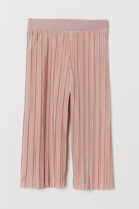 H&M Pleated Culottes - Pink
