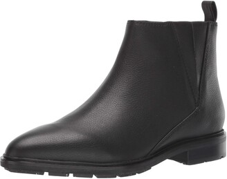 Via Spiga Womens Emelin Black Boot 6.5 M