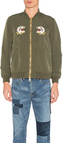 Remi Relief Nylon 66 Alaska Bomber Jacket in Army. - size L (also in M,XL)