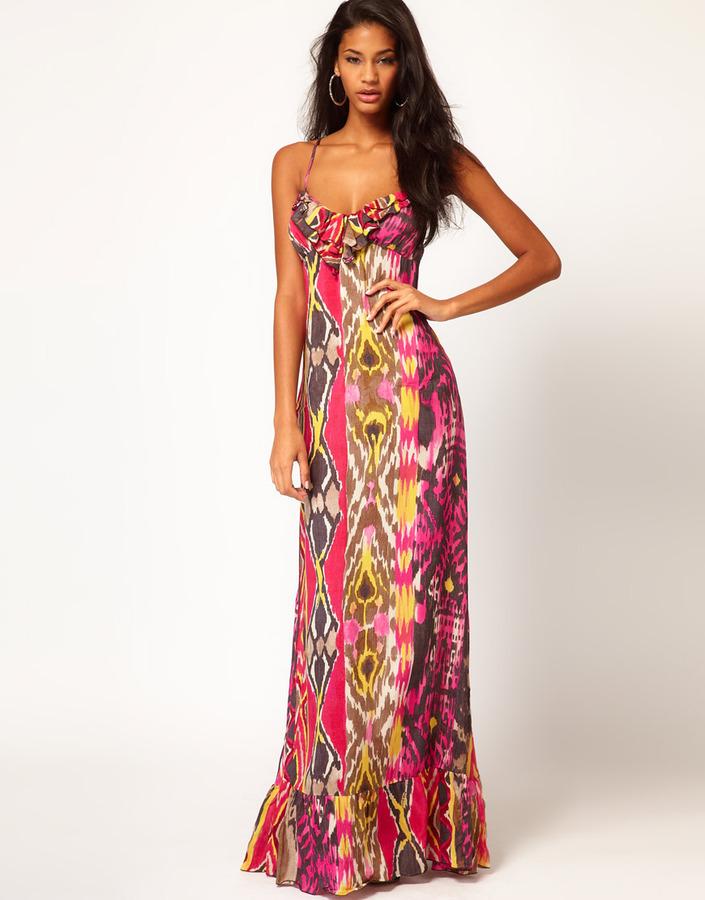 Miss Sixty Tribal Maxi Dress