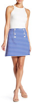 Clover Canyon Striped Suiting Skirt