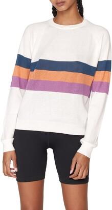 Spiritual Gangster On The Go Stripe Sweater