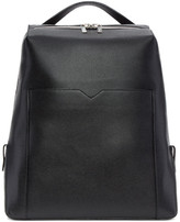 Valextra Black V Backpack