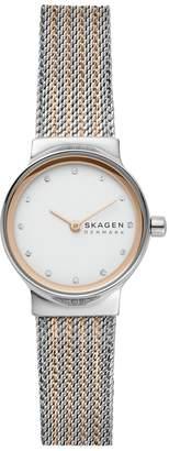 Skagen Ladies SKW2699 Freja Two Tone Rose Coloured Watch