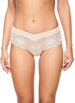 Chantelle Champs Elysees Shorty Briefs, Cappuccino