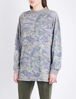 Yeezy Season 4 cotton-jersey sweatshirt