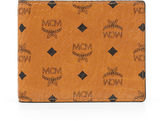 MCM Claus Bifold Flap Wallet