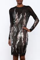 Wow Couture Sequin Low Back Dress