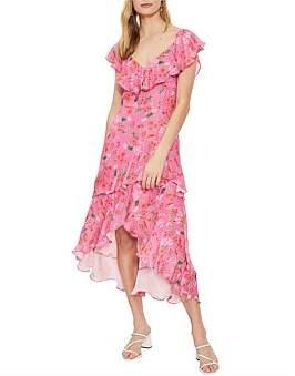 Cooper St Stella Frill Midi Dress