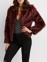 Charlotte Russe Faux Fur Jacket
