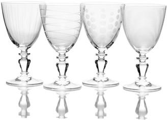 Mikasa Cheers Vintage 4-pc. White Wine Glass Set