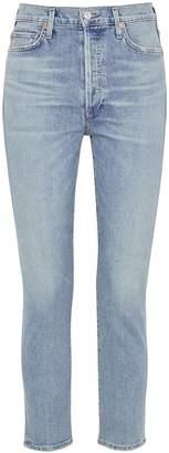 Citizens of Humanity Olivia Light Blue Slim-leg Jeans