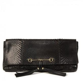 Gucci Black Crocodile Clutch bags