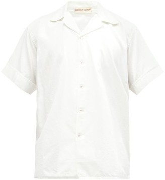 Cleverly Laundry - Superfine-cotton Sateen Pyjama Shirt - White