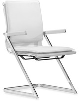 Bed Bath & Beyond zuo modern Lider Plus Conference Chair (Set of 2) - White