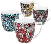 Waechtersbach 4-pc. Urbana Paisley Assorted Mug Set