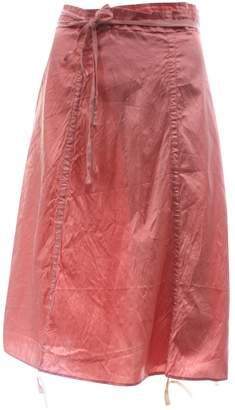 Calypso St. Barth \N Pink Silk Skirt for Women