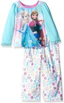Disney Little Girls' Toddler Frozen 2-Piece Pajama Set