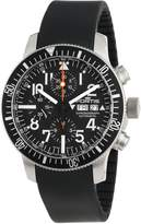 Fortis Men's 638.10.41 K B-42 Official Cosmonauts Automatic Chronograph Date Rubber Watch