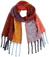 Tom Tailor Women's Brushed Colourblock Scarf