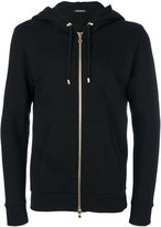 Balmain tiger print hoodie - men - Cotton - S
