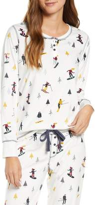 PJ Salvage Apres Ski Print Pajama Top