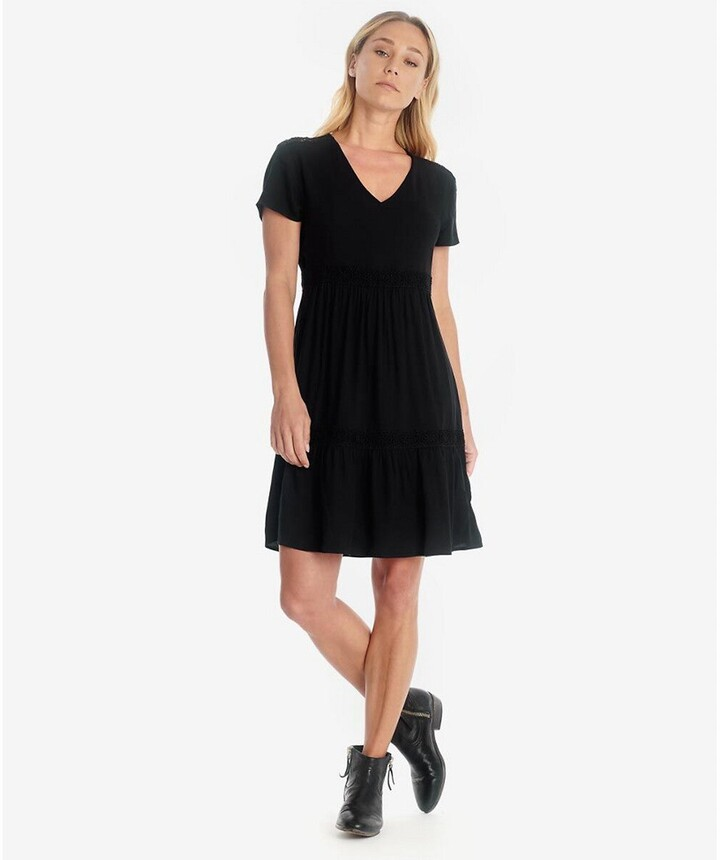 Thumbnail for your product : Le Temps Des Cerises V-Neck Mini Dress