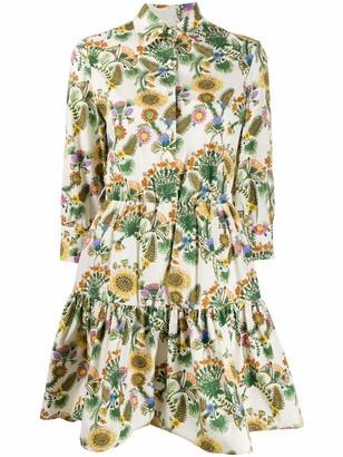 Bellini 3/4 Sleeve Mini Dress