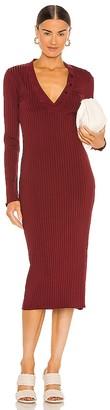 L'Academie The Clarissa Midi Dress