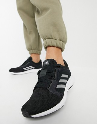 adidas Edge Lux 4 sneakers in black and white
