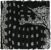 Saint Laurent bandana print scarf - women - Silk/Cashmere - One Size