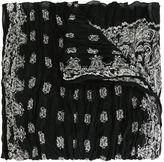 Saint Laurent paisley print scarf