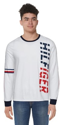 Tommy Hilfiger Tommy Great Long Sleeve T-Shirt - Bright White