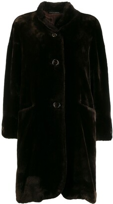 Pierre Cardin Pre-Owned 1980's loose teddy bear coat