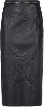 N°21 N.21 Embellished Rear Zip Skirt