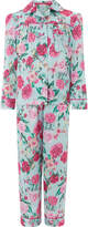 Monsoon Florencia Rose Print Satin PJ Set