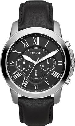 Fossil Men's Grant Quartz Stainless Chronograph Watch