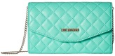Love Moschino Quilted Evening Bag Handbags