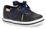 Keds Infant Girl's X Kate Spade New York Champion Glitter Crib Shoe
