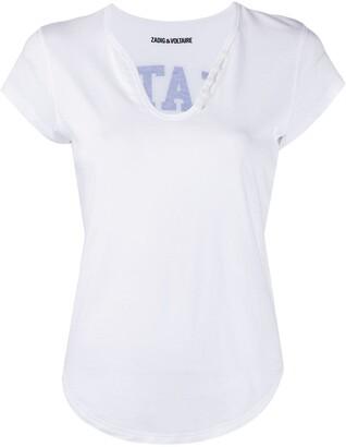 Zadig & Voltaire Karta Kate T-shirt