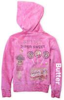 Butter Shoes Girls 4-6x) Emoji Candy Zip Hoodie