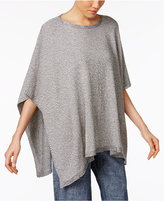 Eileen Fisher Boat-Neck Poncho Sweater