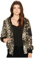 Vince Camuto Faux Fur Bomber N8561 Women's Coat