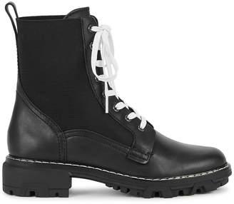 Rag & Bone Shiloh 40 Black Leather Boots